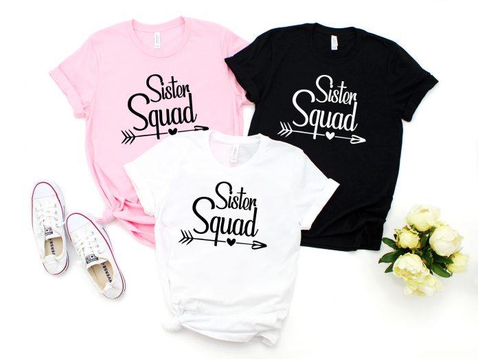 Sister Squad Shirt, Sister Tee Shirt, Adult Sister Shirts, Family T-Shirt, Sister Birthday Shirt, Sister Tank Top, Sorority Sister Shirt