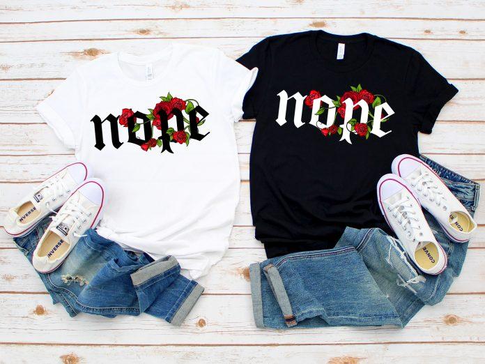 Nope Shirt, Funny Shirt, Funny T Shirt, Gift For Her, Funny Tshirt, Womens Clothing