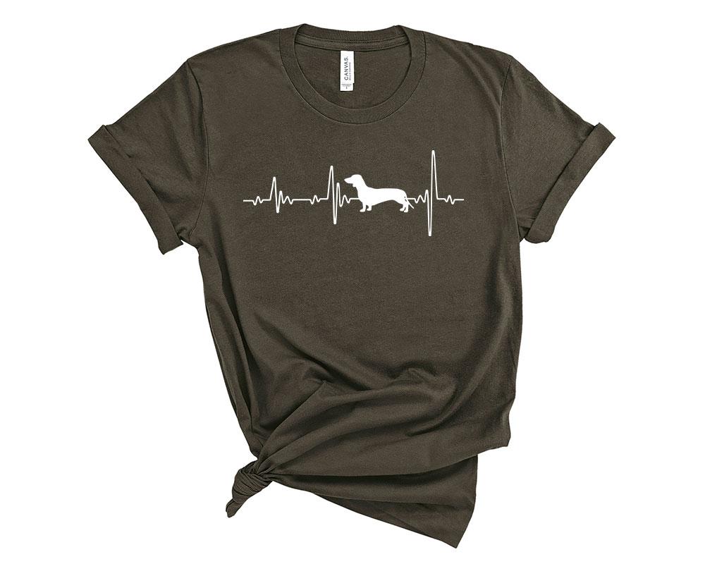 Army Dachshund Shirt
