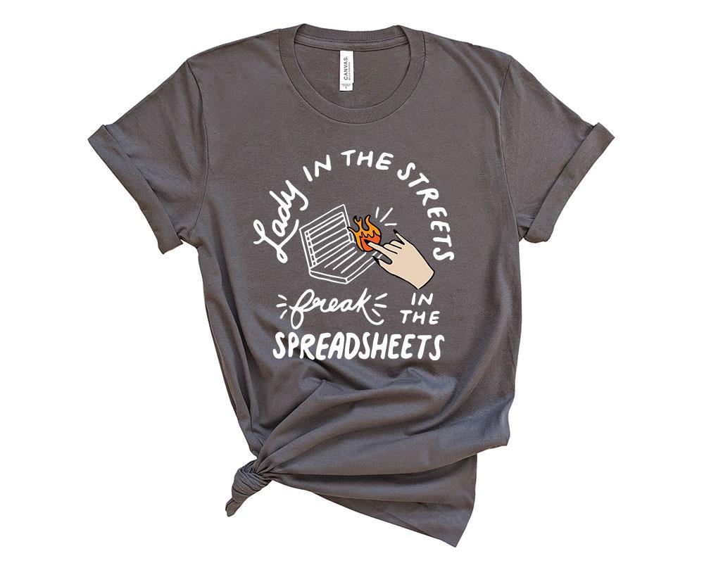 Asphalte Accountant Accounting Shirt