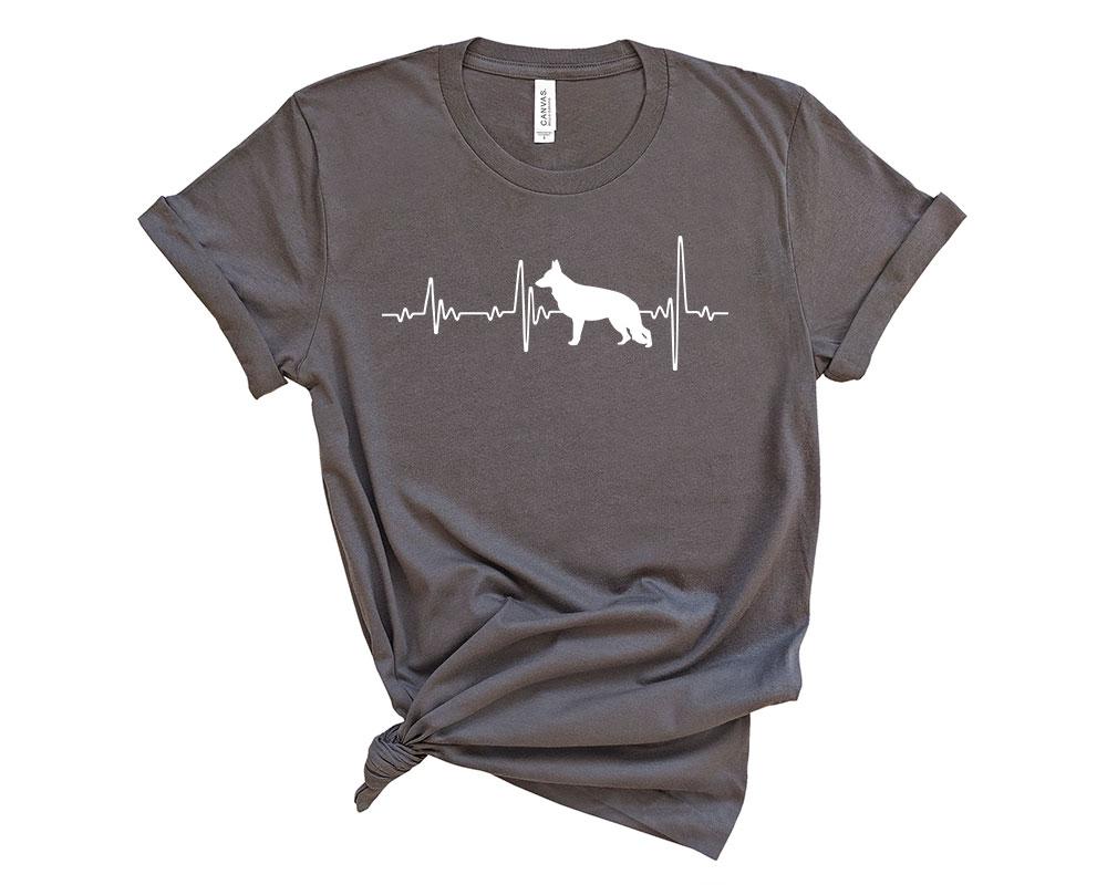 Asphalte German Shepherd Shirt