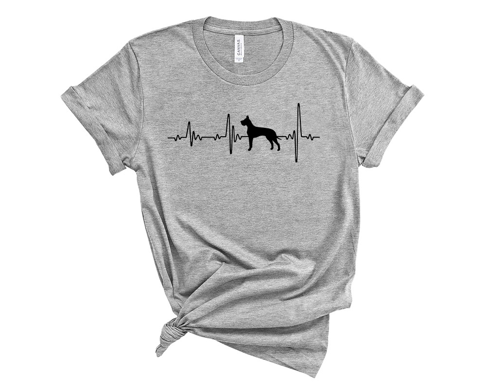 Athletic Heather Great Dane Shirt