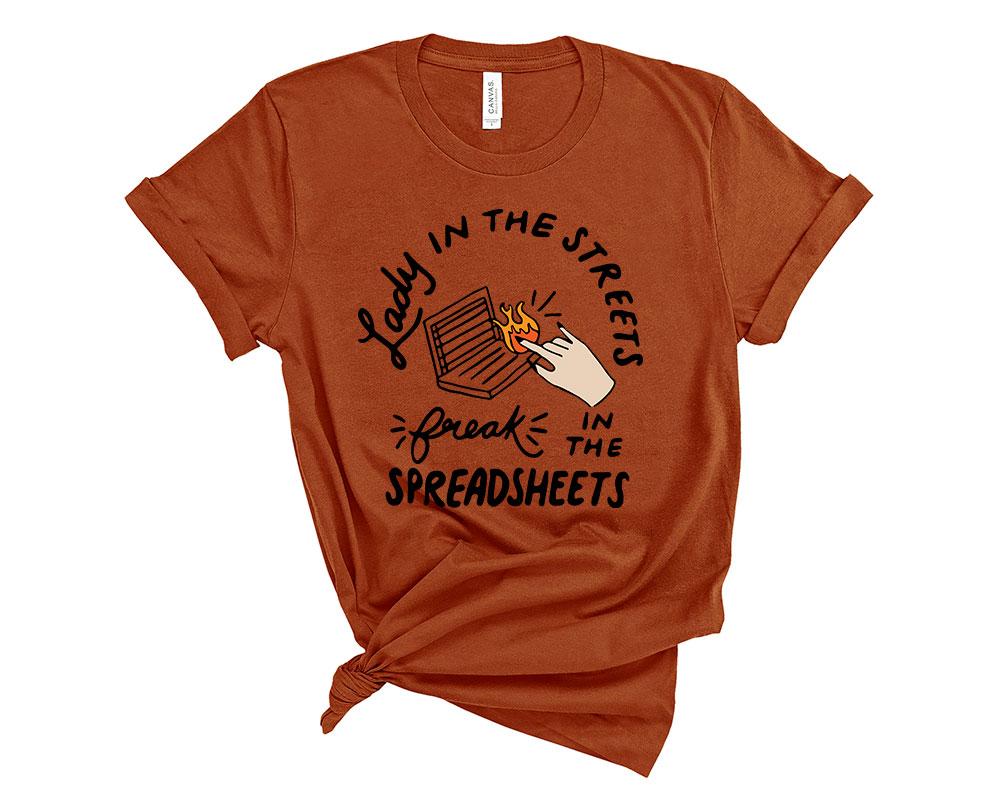 Autumn Accountant Accounting Shirt