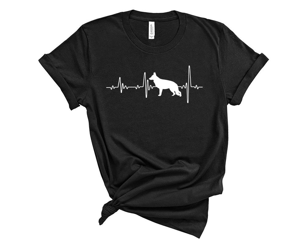 Black German Shepherd Shirt