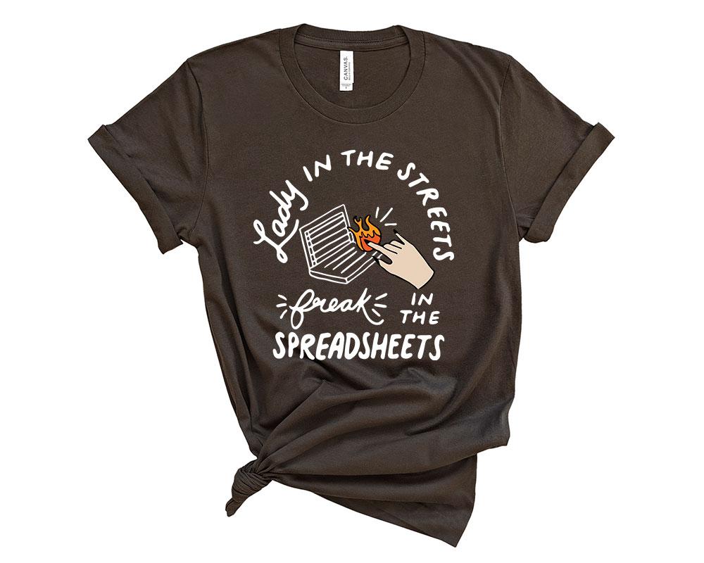 Brown Accountant Accounting Shirt