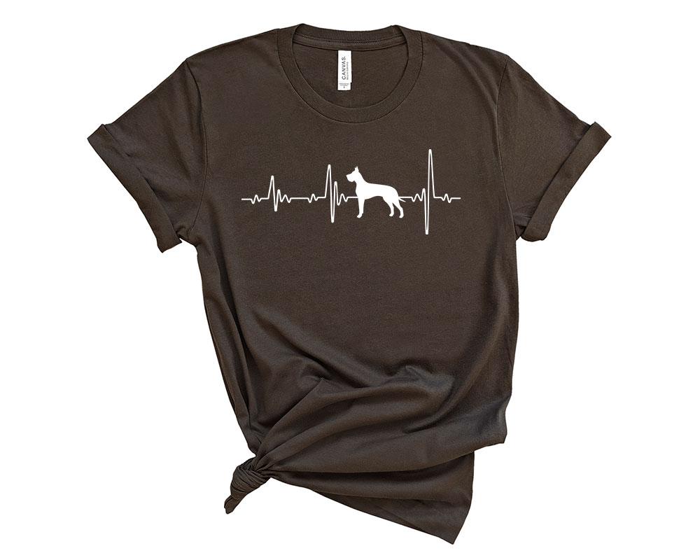 Brown Great Dane Shirt