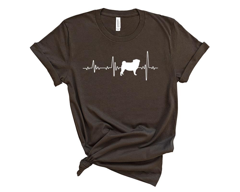 Brown Pug Shirt