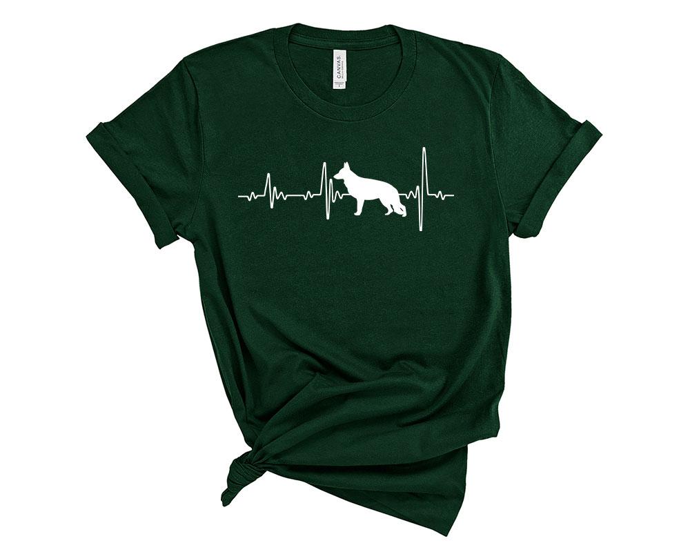 Forest German Shepherd Shirt