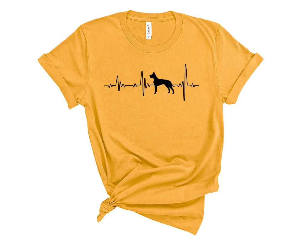 Gold Great Dane Shirt