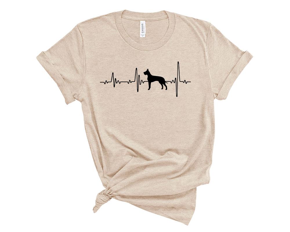 Heather Dust Great Dane Shirt