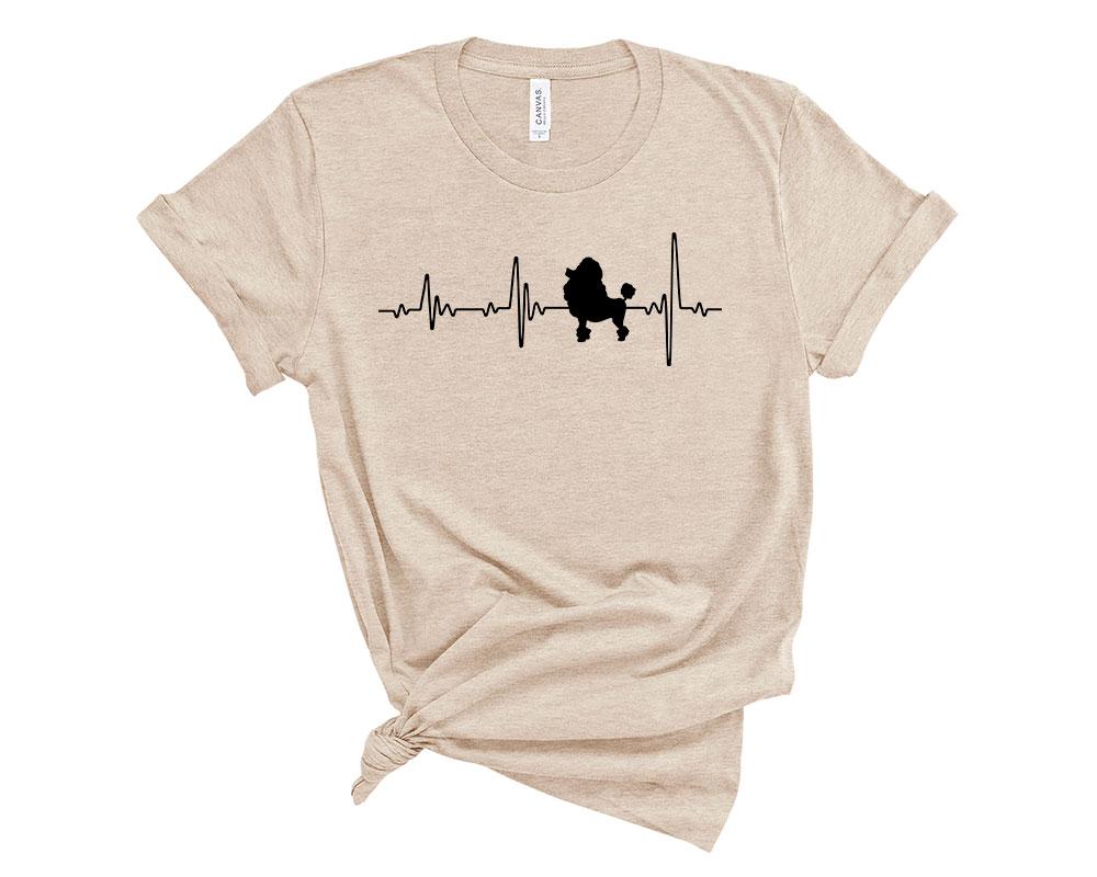 Heather Dust Poodle Shirt