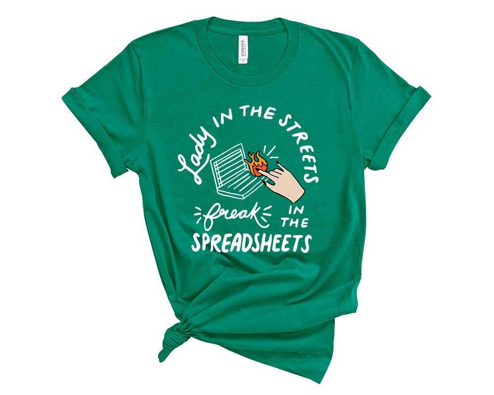 Kelly Accountant Accounting Shirt
