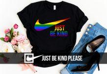 LGBT Just Be Kind T Shirt