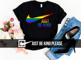 LGBT Just Be Kind T Shirt