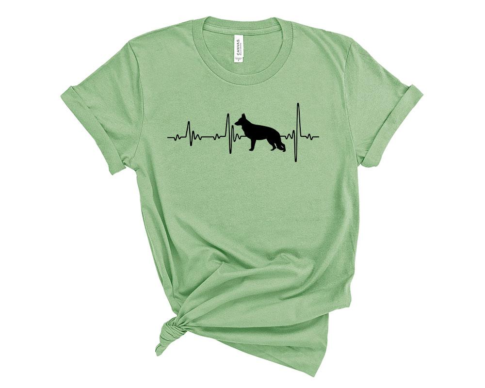 Leaf German Shepherd Shirt