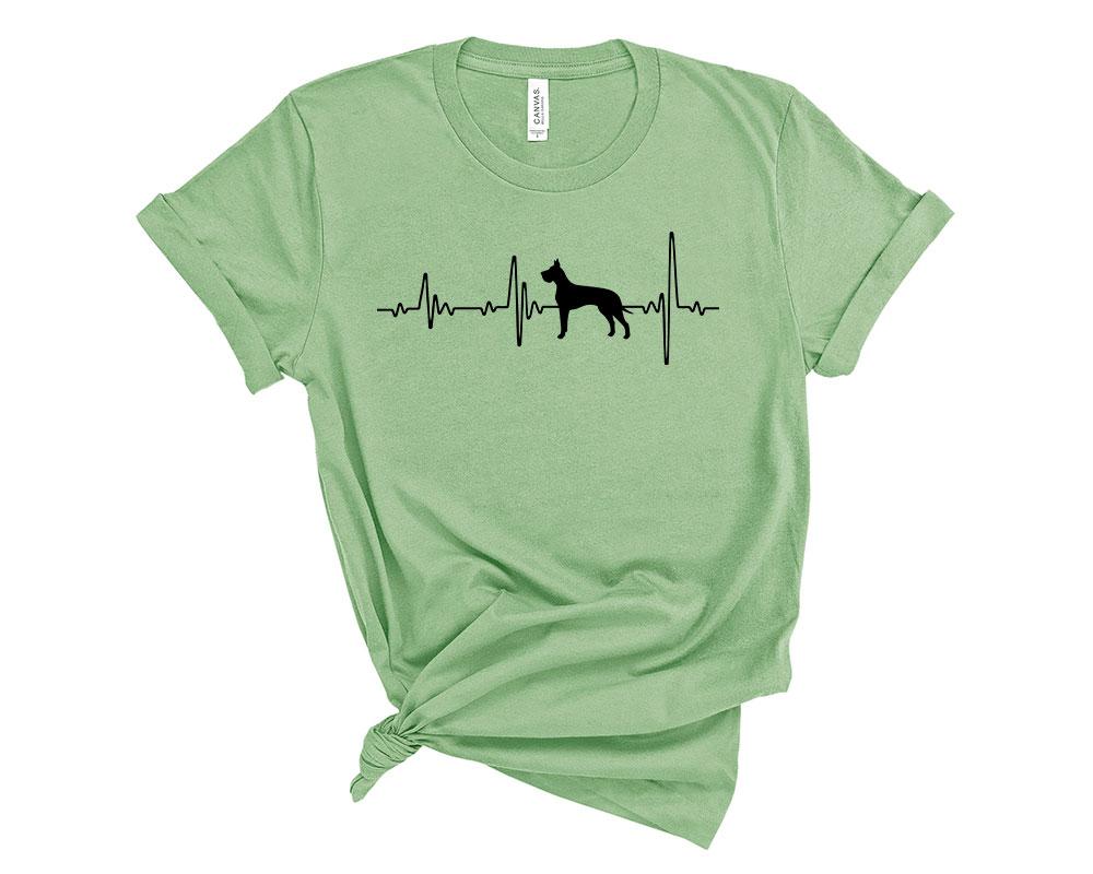 Leaf Great Dane Shirt