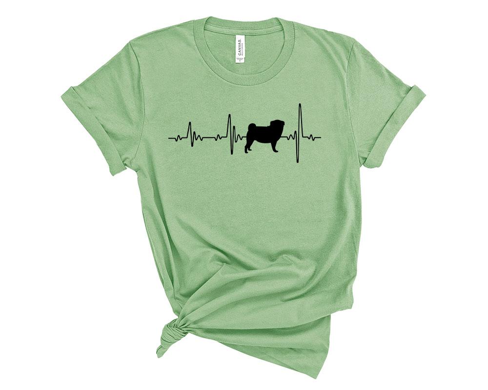Leaf Pug Shirt