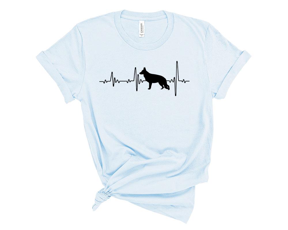 Light Blue German Shepherd Shirt