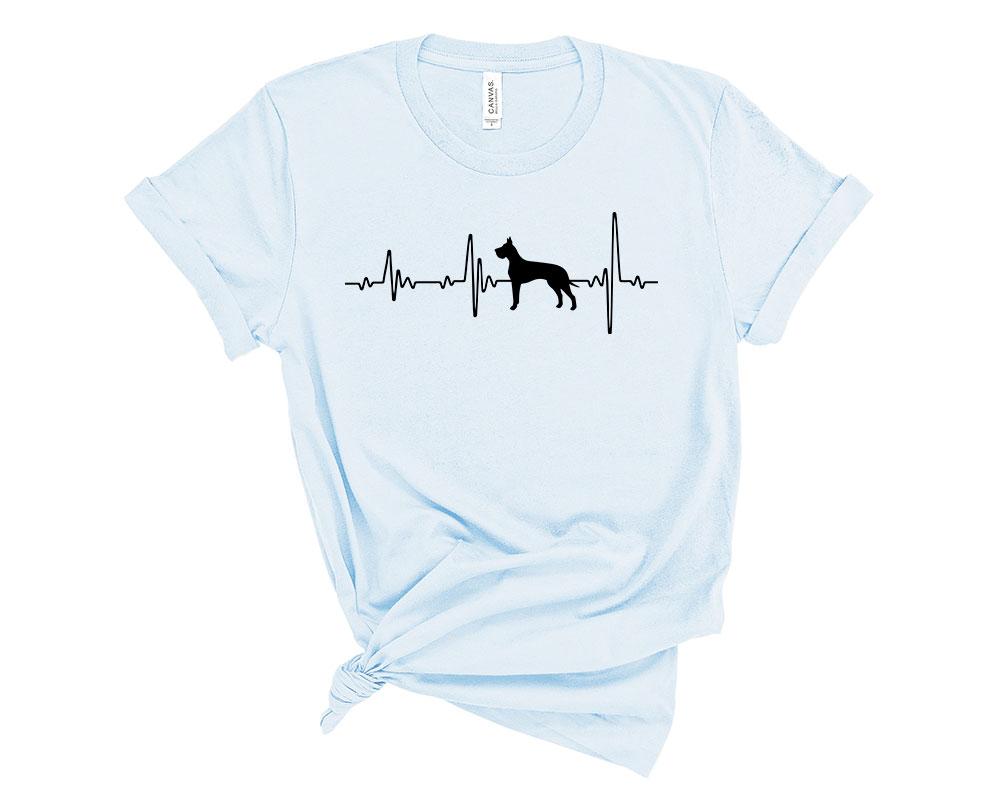 Light Blue Great Dane Shirt