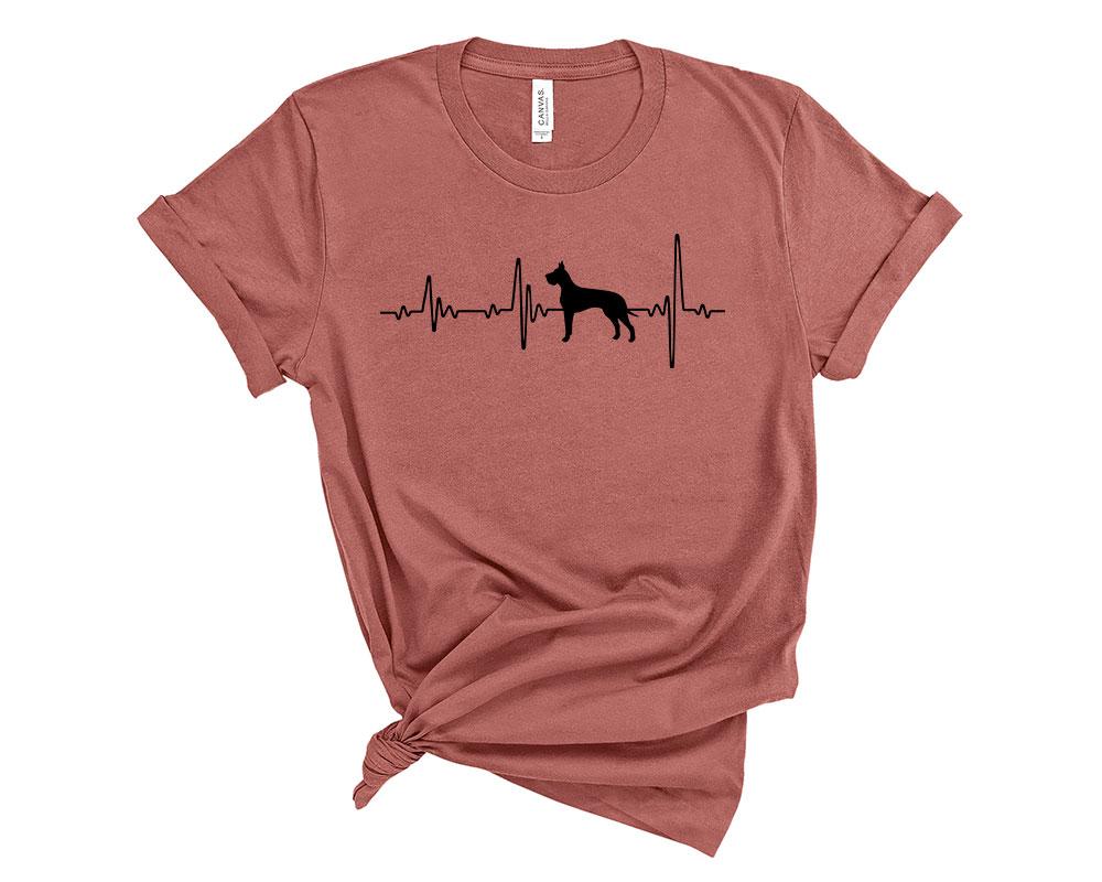 Mauve Great Dane Shirt