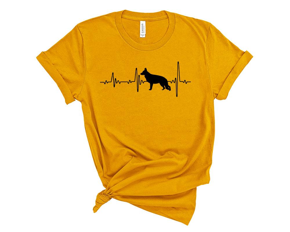 Mustard German Shepherd Shirt