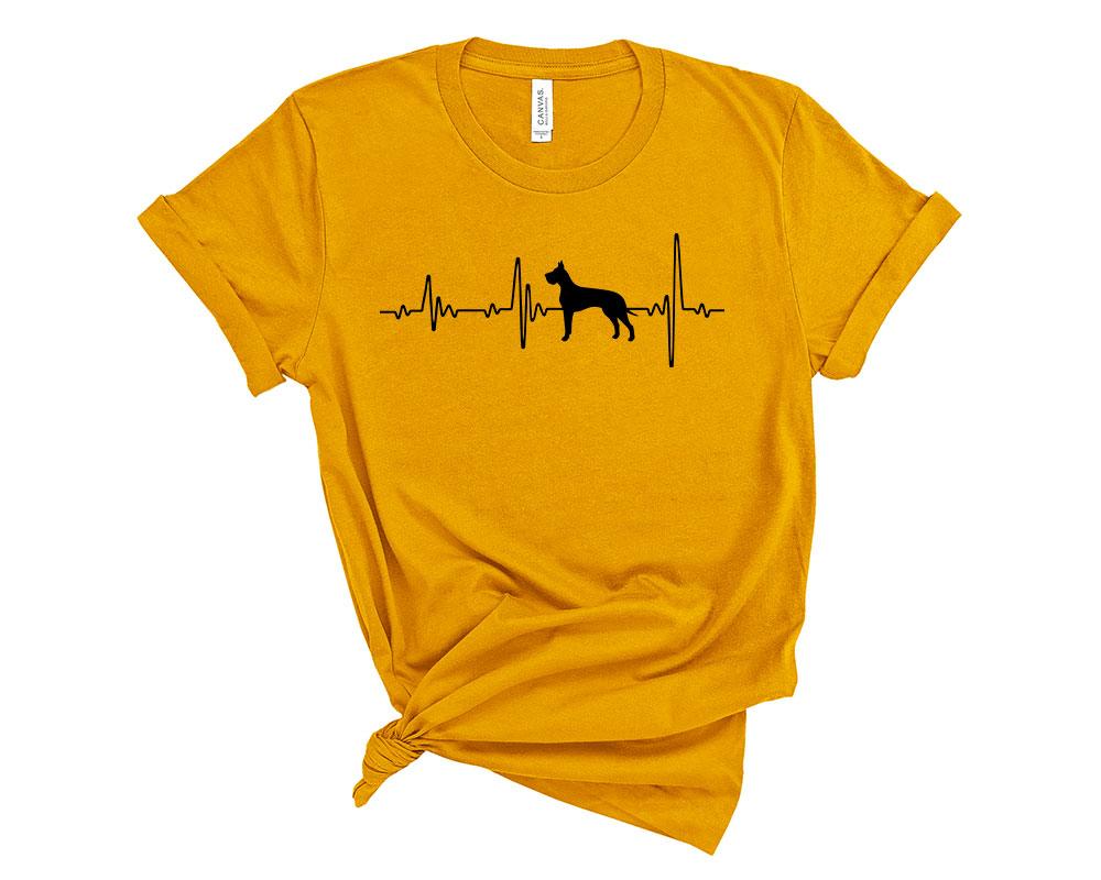 Mustard Great Dane Shirt