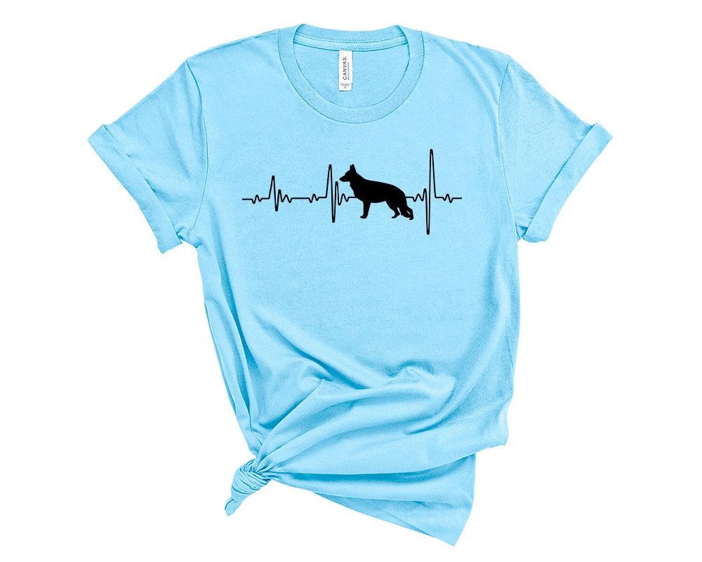 Ocean Blue German Shepherd Shirt
