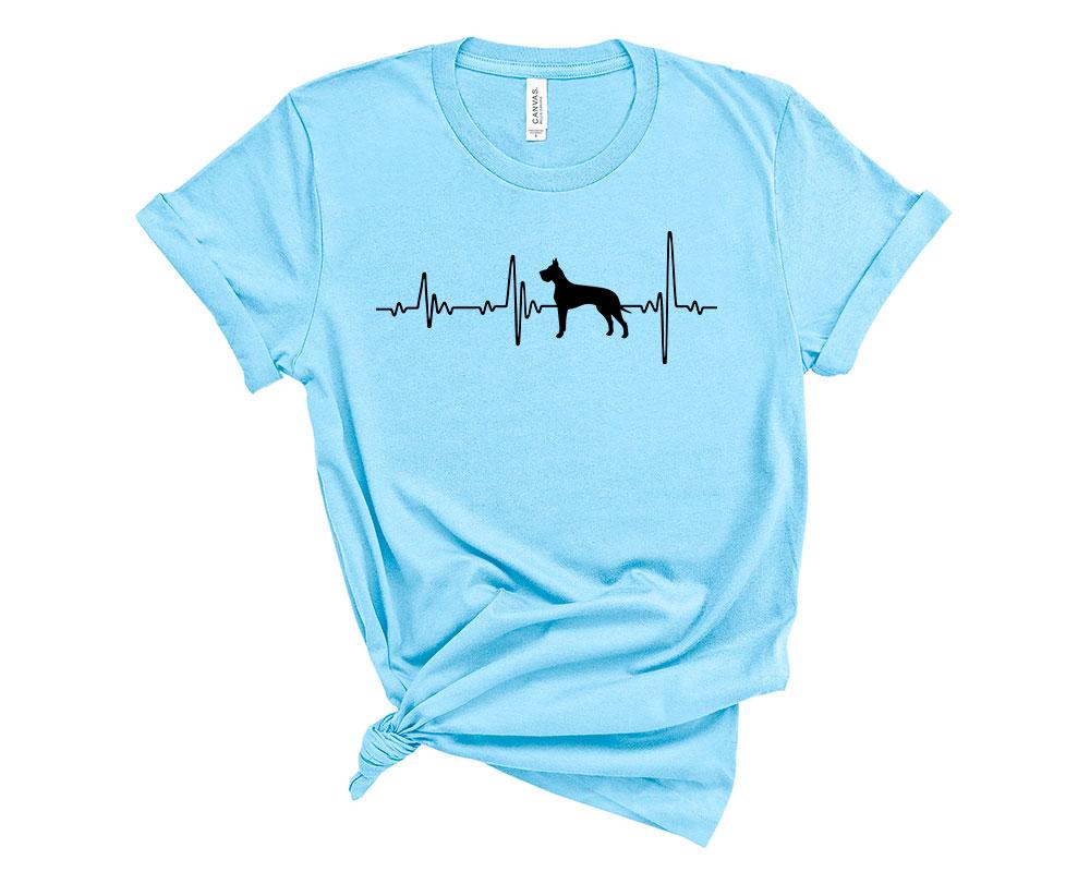 Ocean Blue Great Dane Shirt