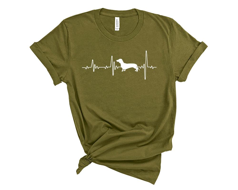 Olive Dachshund Shirt