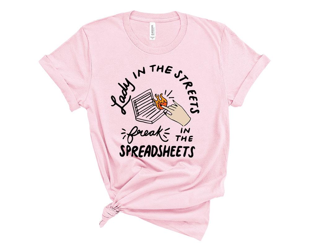Pink Accountant Accounting Shirt