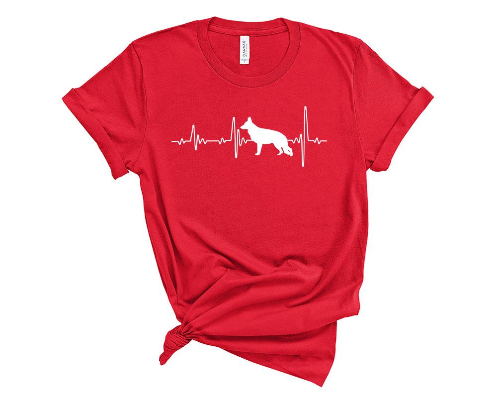 Red German Shepherd Shirt