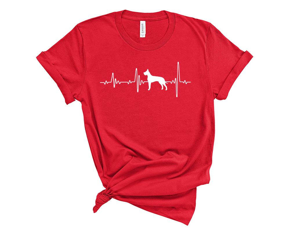 Red Great Dane Shirt