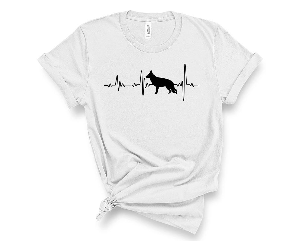 Silver German Shepherd Shirt
