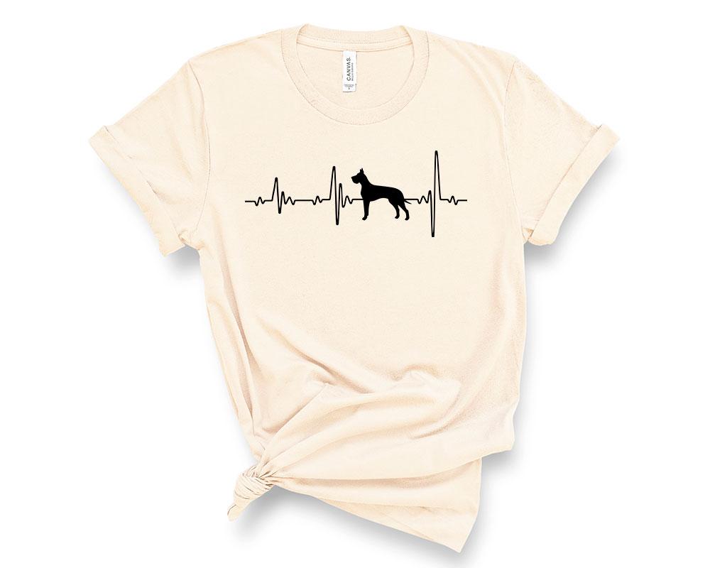 Soft Cream Great Dane Shirt