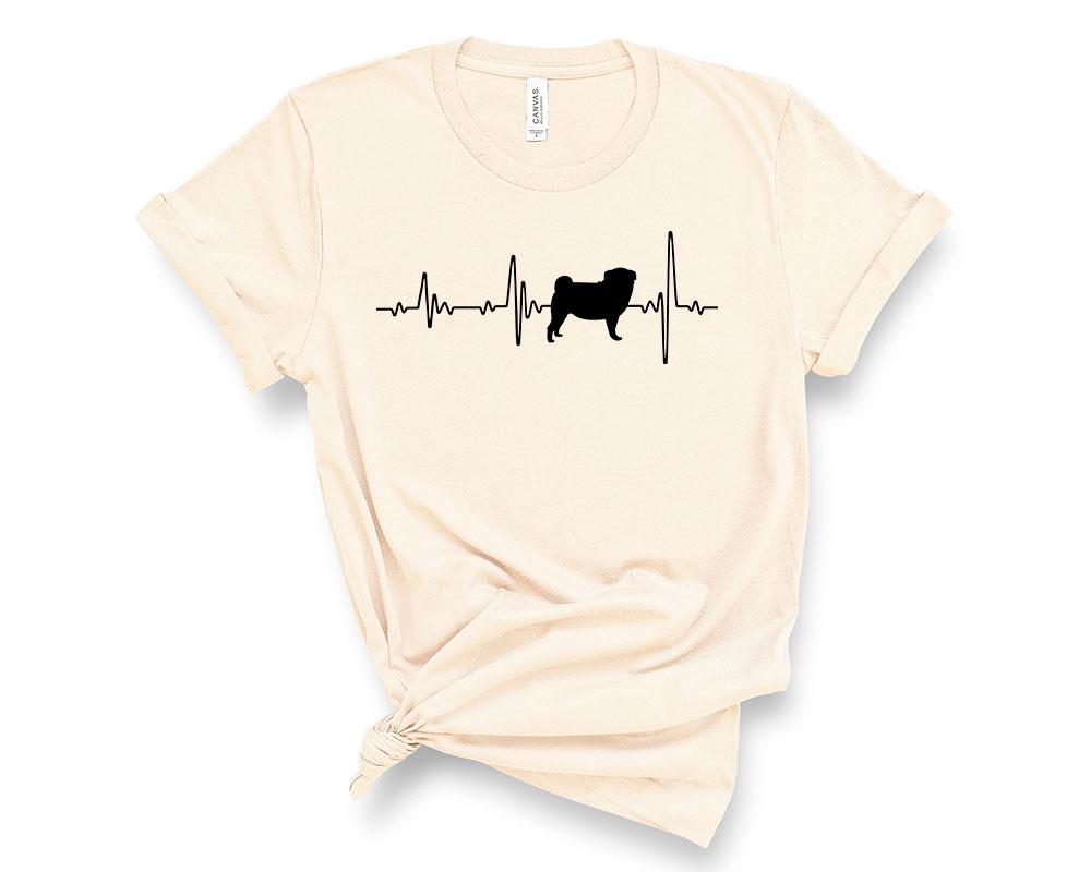 Soft Cream Pug Shirt