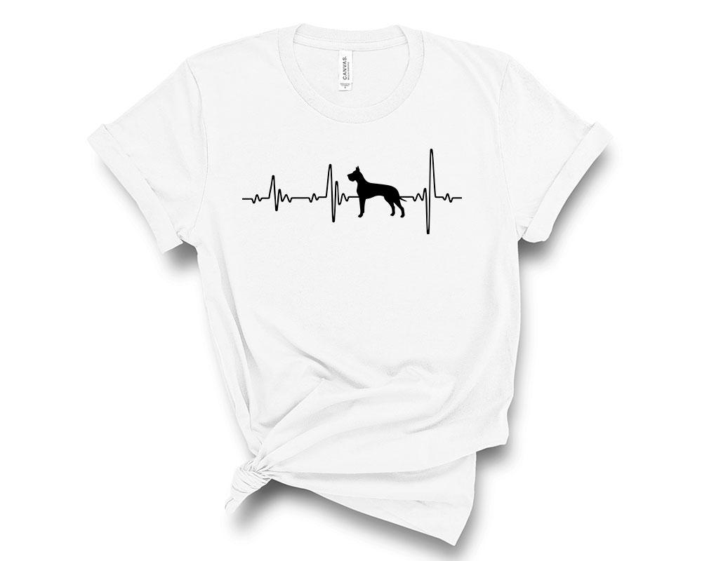 White Great Dane Shirt