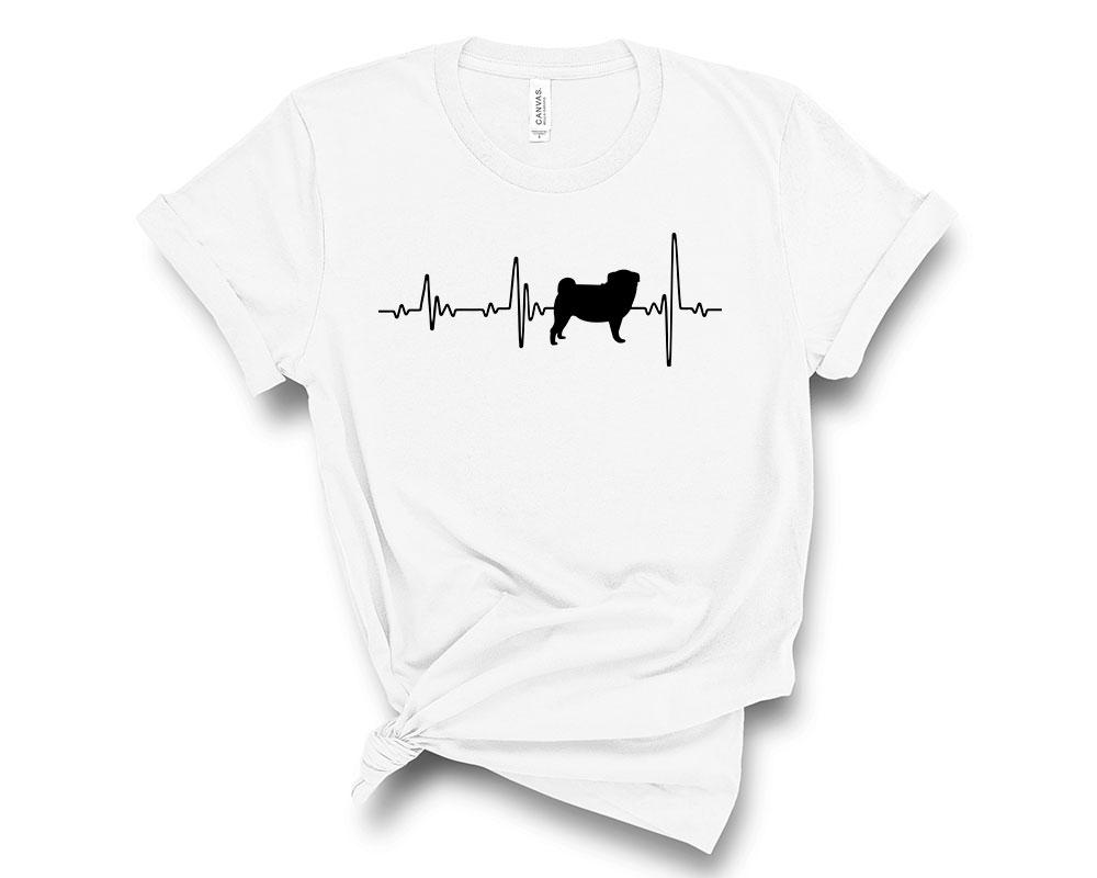 White Pug Shirt