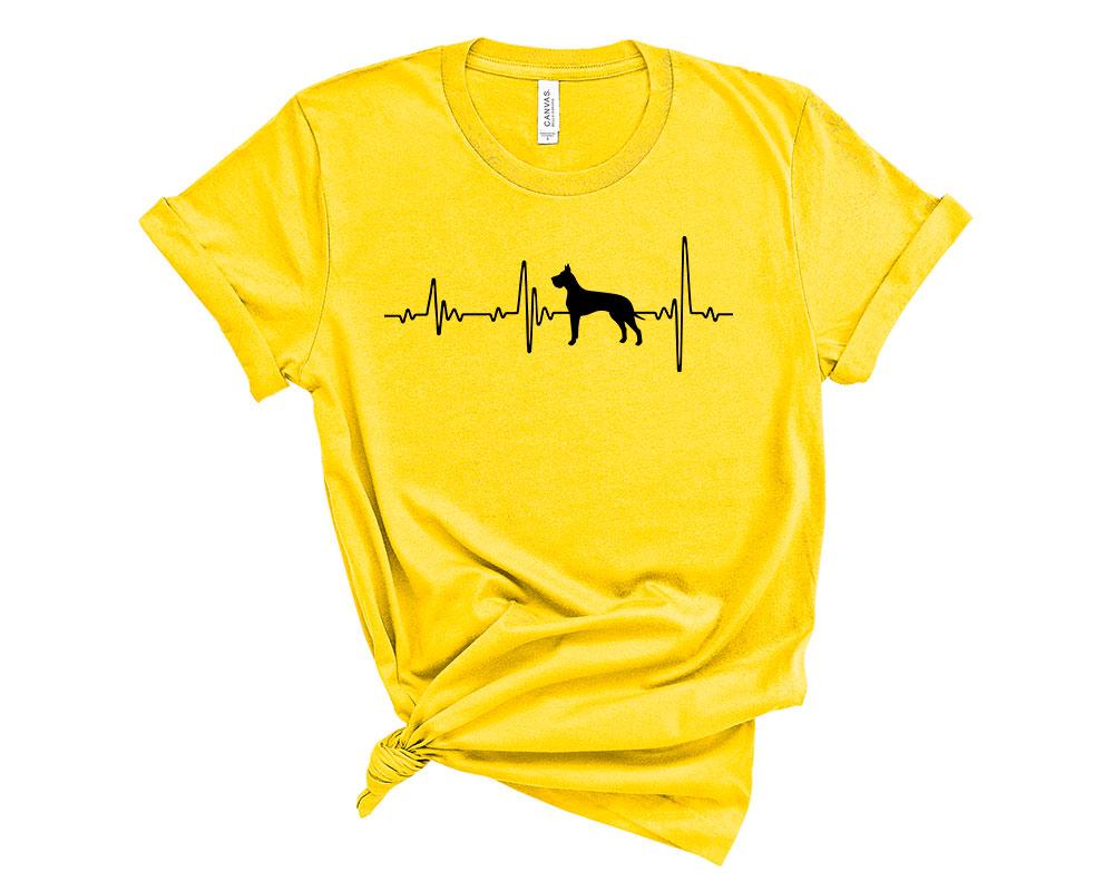Yellow Great Dane Shirt