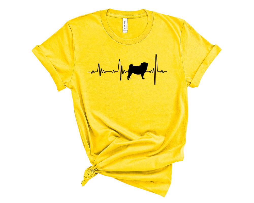Yellow Pug Shirt