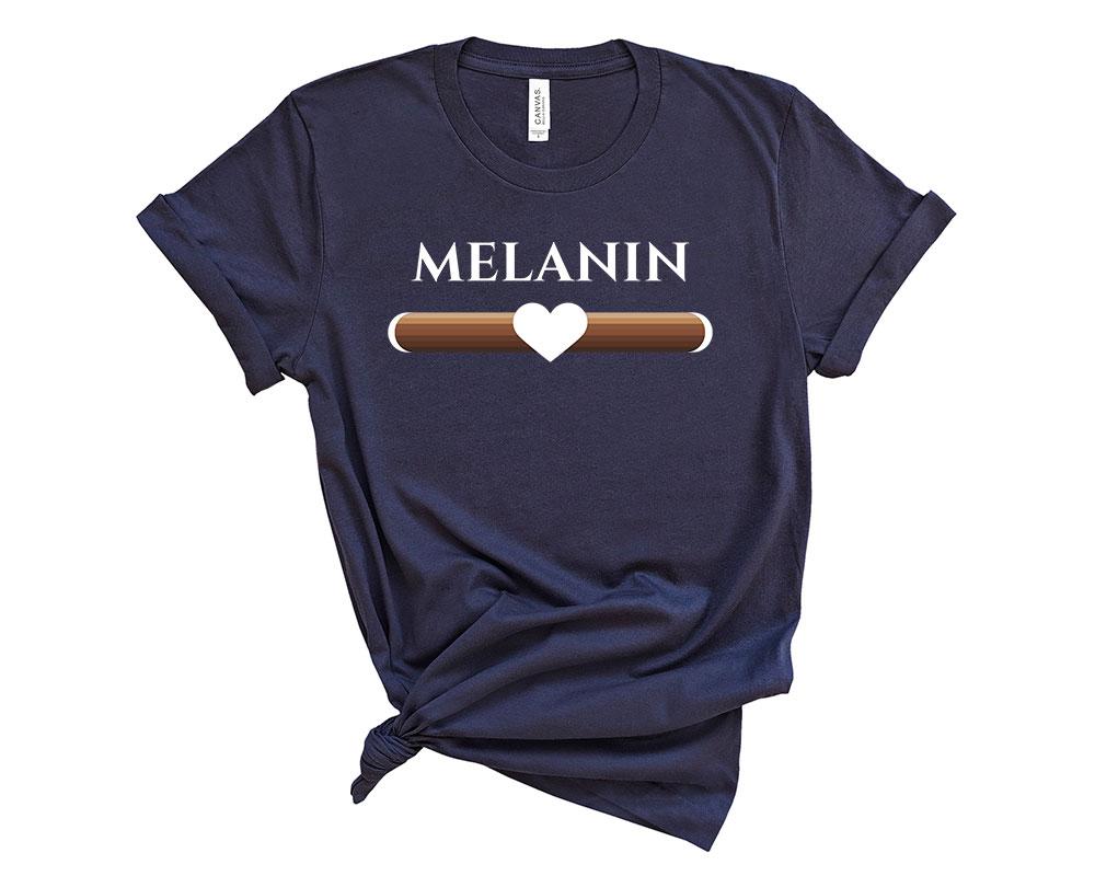 navy Melanin Shirt