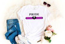 Labrys Lesbian Flag Shirt