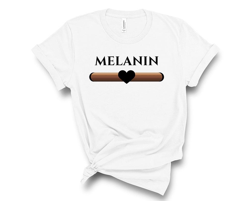 white Melanin Shirt
