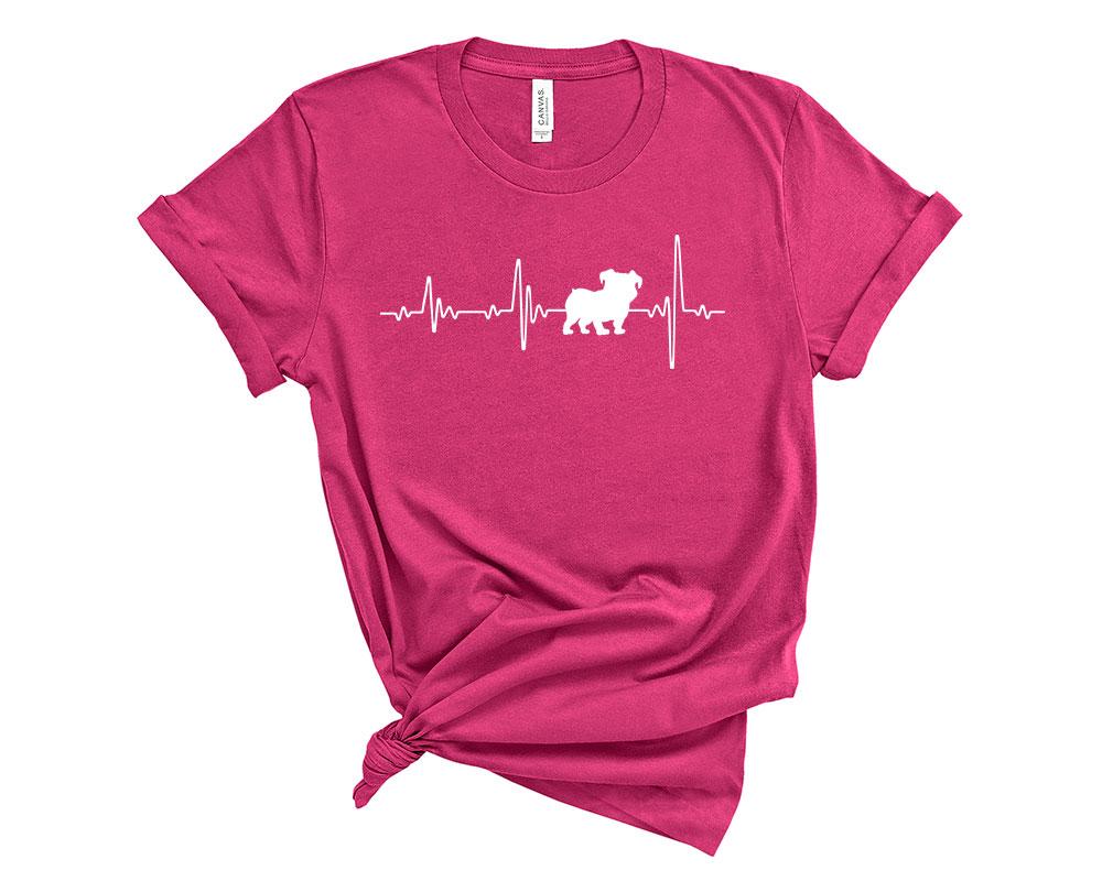Berry Bulldog Shirt