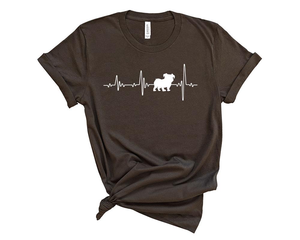 Brown Bulldog Shirt