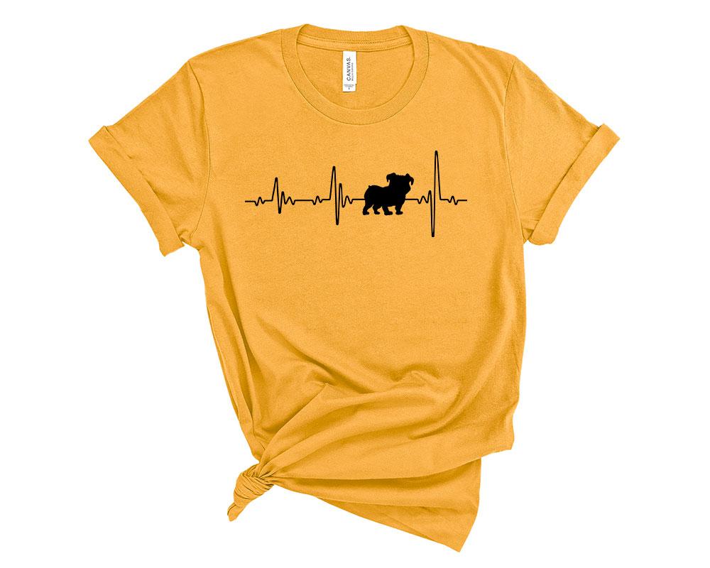 Gold Bulldog Shirt