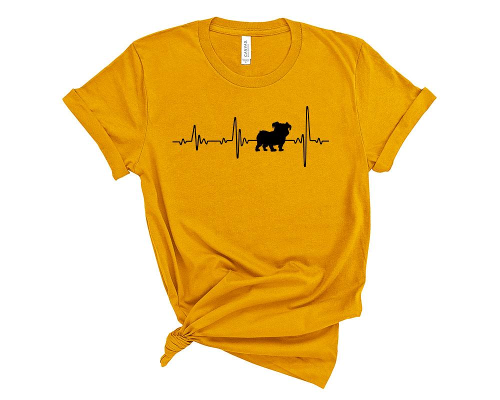 Mustard Bulldog Shirt