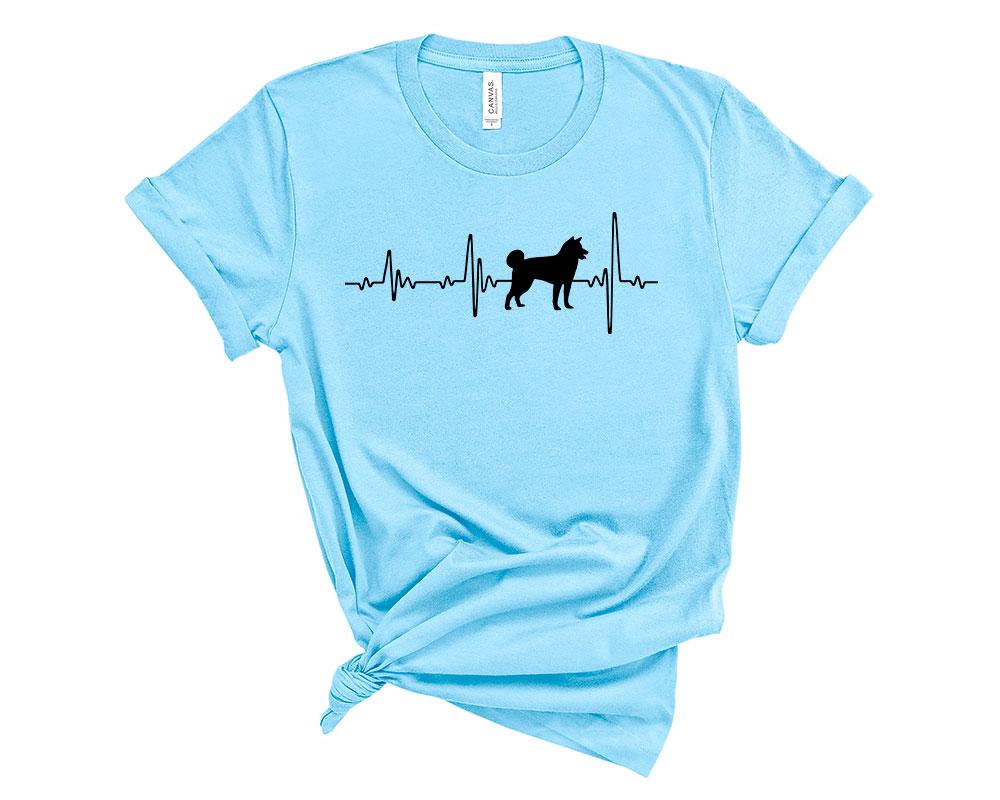 Ocean Blue Akita Shirt