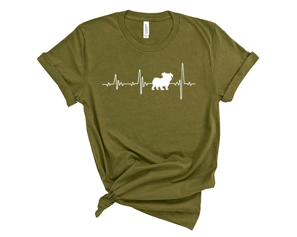 Olive Bulldog Shirt