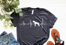Boxer Love Heartbeats T Shirt